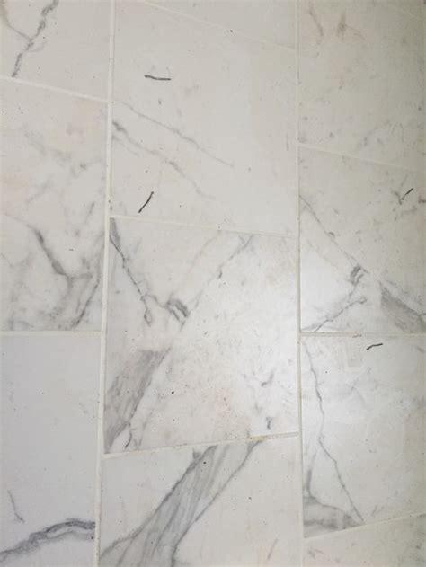 porcelain quot carrara marble quot look alike tile