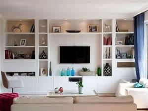 Etagere Pour Tv : les 25 meilleures id es concernant tag res murales pour tv sur pinterest d cor de mur de tv ~ Teatrodelosmanantiales.com Idées de Décoration