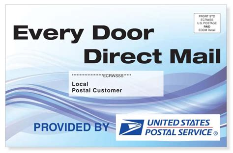 every door direct every door direct mail service eddm slb printing