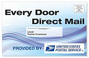 every door direct mail service eddm slb printing With usps every door direct mail template