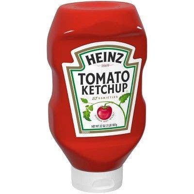 Heinz Tomato Ketchup 32oz | Heinz tomato ketchup, Ketchup ...