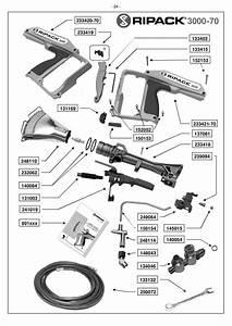 Ripack Heat Gun Extension Piezo Igniter