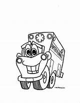 Ambulance Coloring Ems Printable Transportation Transport Kleurplaat Coloriage Drawing Ziekenauto Dessin Kleurplaten Sketch Sketchite Coloriages Sketches sketch template