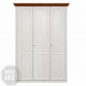 Kleiderschrank 3 Türig Weiß : kleiderschrank ole kiefer massiv wei 3 t rig landhausstil ebay ~ Indierocktalk.com Haus und Dekorationen
