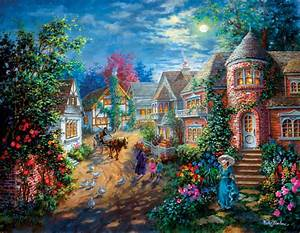 Village Illustration Pictures  Photos  And Images For
