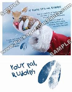packagefromsantacom custom letter from rudolph With personalized letter from santa claus from rudolph express