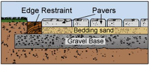 unilock installation guide how to install interlocking concrete pavers