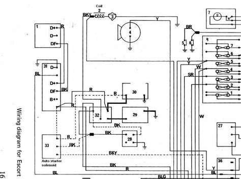 Ford Granada Mk2 Wiring Diagram ford granada v6 wiring diagram
