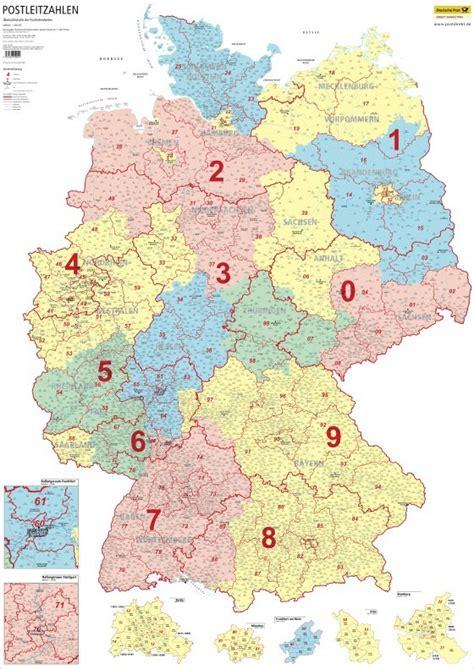 Karte Deutschland Mit Plz