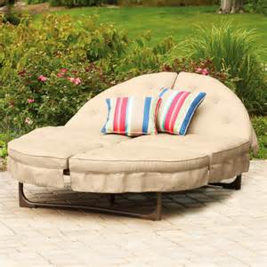 sectional two 2 person chaise lounge outdoor deck