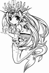 Anime Coloring Pages To Print | freecoloring4u.com