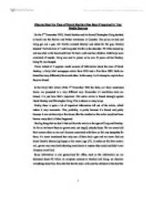 media bias research paper outline