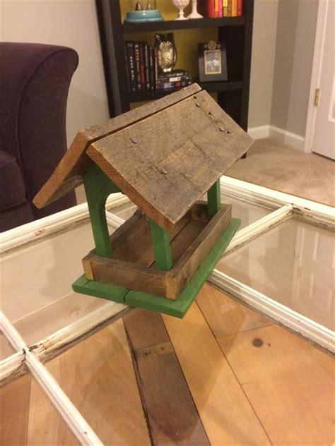 diy antique pallet bird feeder pallet furniture plans