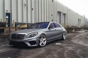 Mercedes S63 Amg : a classy silver mercedes benz s63 amg gets adv5s wheels ~ Melissatoandfro.com Idées de Décoration