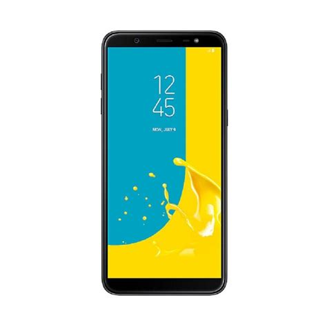 samsung galaxy j8 black big w