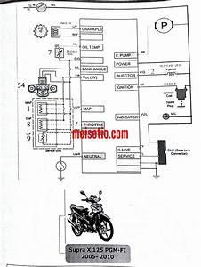 Cara Membaca Kode Wiring Diagram Kelistrikan Motor Honda