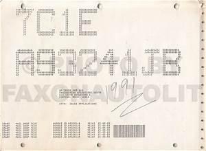 1991 Gmc Topkick Chevy Kodiak Gas Fuel Emissions Service