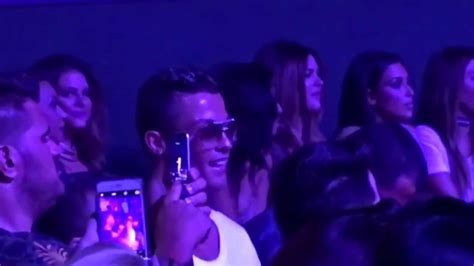 Cristiano Ronaldo Dancing With Kim Kardashian And Jennifer