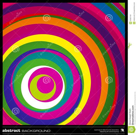 abstract colorful circles background stock image image