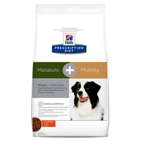hills prescription diet canine metabolic mobility weight