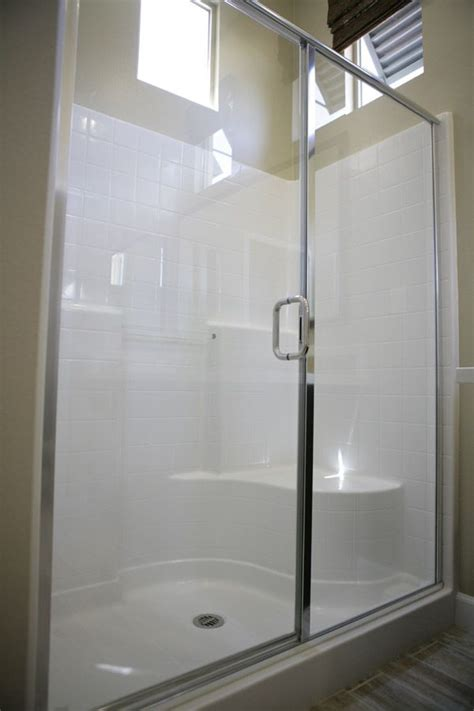 easy maintenance master showers master baths feature