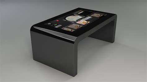 bureau etude acoustique realisation table basse tactile