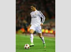 Cristiano Ronaldo of Real Madrid in action during the UEFA
