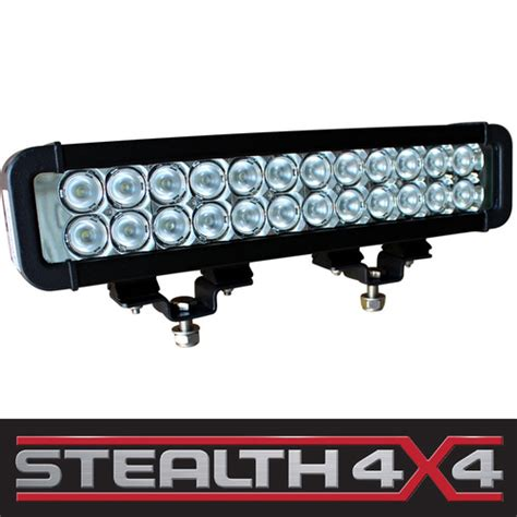 stealth 12 inch 72w light bar 24 x 3w cree led 4x4 auto