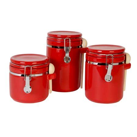 Kitchen Canister Sets Walmart by Mainstays Sensations Ii 3pc Canister Set Walmart