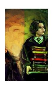 Severus Snape and Lily Evans by DeyonSide