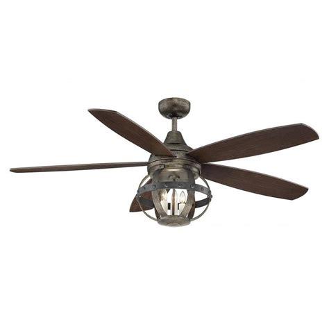 ul d ceiling fans illumine aumbrie 52 in reclaimed wood indoor outdoor