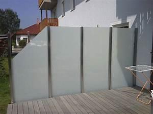 sichtschutz windschutz oberosterreich With französischer balkon mit folie garten