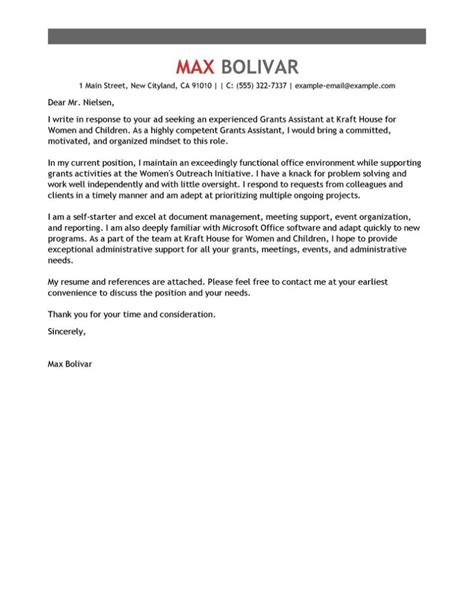 Cover Letter For Support Assistant by Sle Cover Letters For Administrative Assistant All