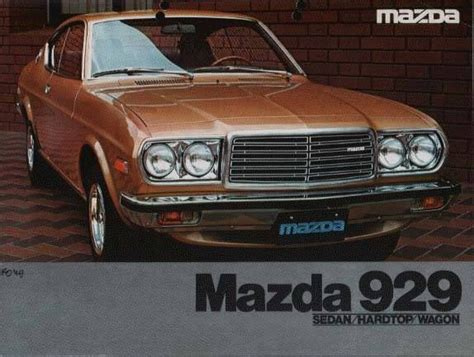 mazda car old model i 39 m looking for mazda 929 1976 model help required