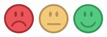 Satisfaction Customer Feedback Scores Face Happy Smilies