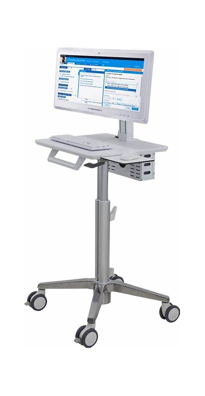 Medical Cart Equipment Carts Cybermed Solution Pair