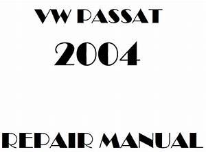 2004 Volkswagen Passat Repair Manual