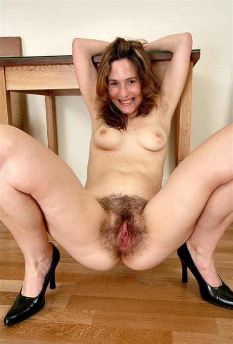 Mature Sex Hairy Milf Spread