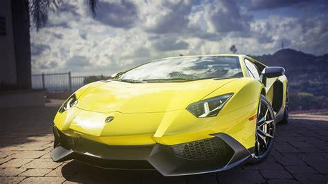 sport cars lamborghini wallpaper lamborghini aventador yellow super sports car