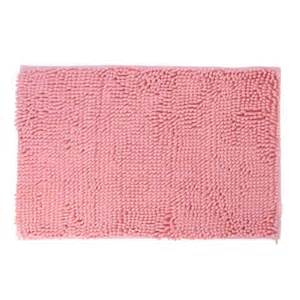bedroom coral pink rectangle shaped nonslip mat area rug