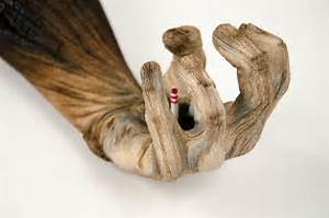 Tonne Aus Holz : tr gerische ton skulpturen die aussehen als seien sie aus holz klonblog ~ Watch28wear.com Haus und Dekorationen