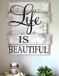 Décoration Murale En Bois : la palette en bois dans tous ses tats elle d coration ~ Dailycaller-alerts.com Idées de Décoration