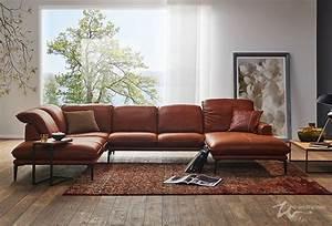Couch Leder Cognac : sofa sherry 24600 in leder z83 z 83 ein gewachstes anilin saddle leder in der farbe 50 cognac ~ Frokenaadalensverden.com Haus und Dekorationen