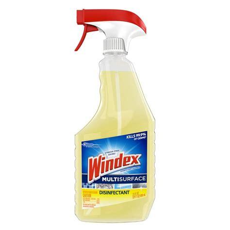 windex 23 fl oz multi surface disinfectant cleaner