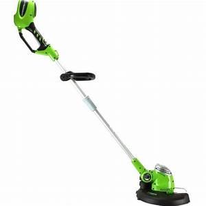 Coupe Bordure Sans Fil : greenworks coupe bordures sans fil g max 40v achat ~ Dailycaller-alerts.com Idées de Décoration