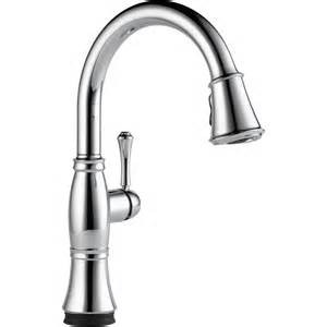 the cassidy single handle pull kitchen faucet with touch2o technology from delta faucet - Delta Kitchen Faucet Single Handle