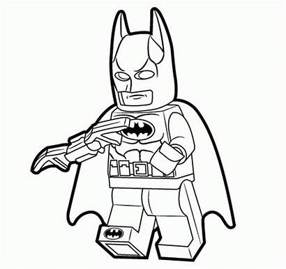 Coloring Lego Superhero Pages Popular