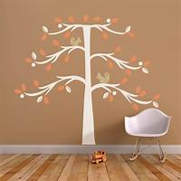 trending tree wall decals Trendy Peas Wall Decal Tree with Squirrel