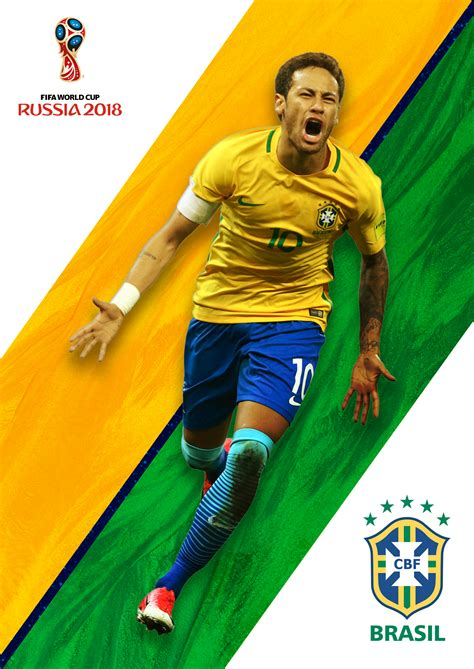 brazil neymar world cup russia world cup poster russia neymar world cup neymar jr