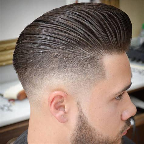 aggressive  pompadour haircuts  boys  men